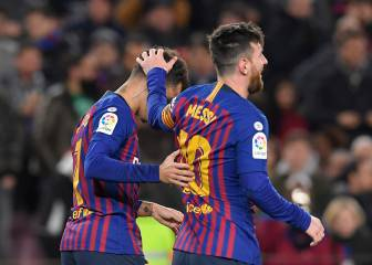 Holders Barça thump Sevilla to reach Copa semis