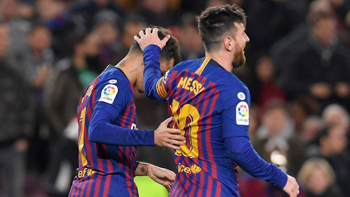 cc8e05539c5 Holders Barcelona thump Sevilla to reach Copa del Rey semis - AS.com