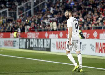 On-song Benzema bags brace as Madrid reach Copa semis