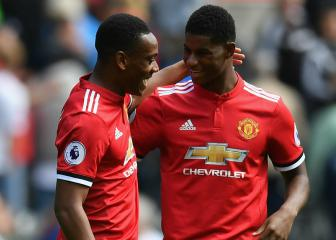Solskjaer: Martial, Rashford need more tap-ins to emulate CR7