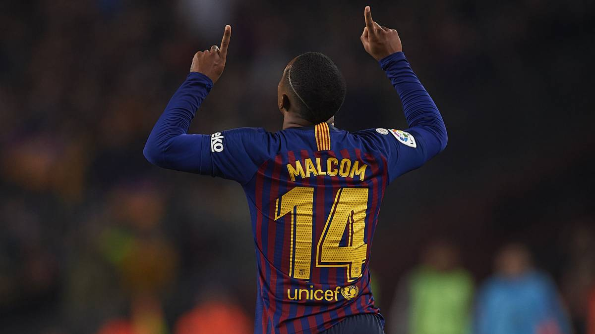 ce53d5c2fc4 Malcom is no Messi but he saves Barça in Copa Clásico - AS.com