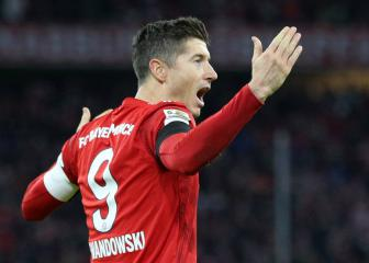 Lewandowski reaches 100 Allianz Arena goals for Bayern