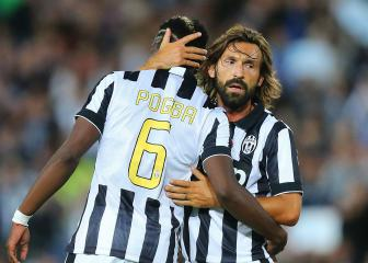 Pirlo, Pogba, Alves - Ramsey joins Juve's finest freebies