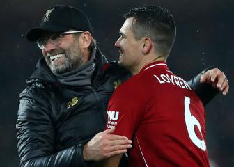 Klopp expecting Lovren to miss Bayern game at Anfield