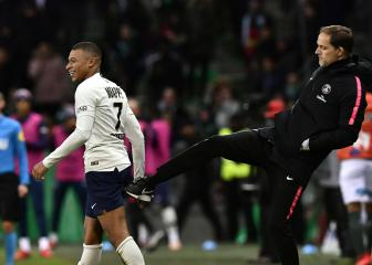 Mbappé workload a concern for PSG boss Tuchel