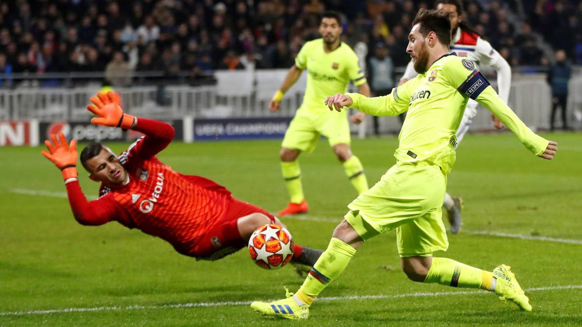 be7600964 Lyon hold off toothless Barcelona - AS.com