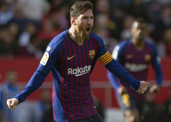 Magic Messi leads Barcelona to victory in Seville
