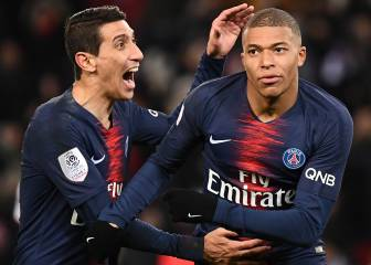 Tuchel over the moon with Di María, Mbappé partnership
