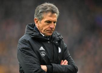 Leicester City show Claude Puel the door