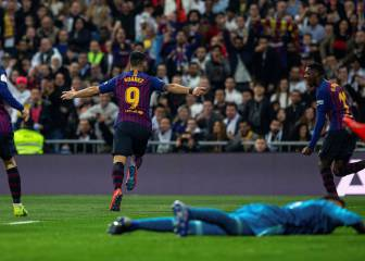 Barcelona and Suárez take their chances as Madrid miss theirs
