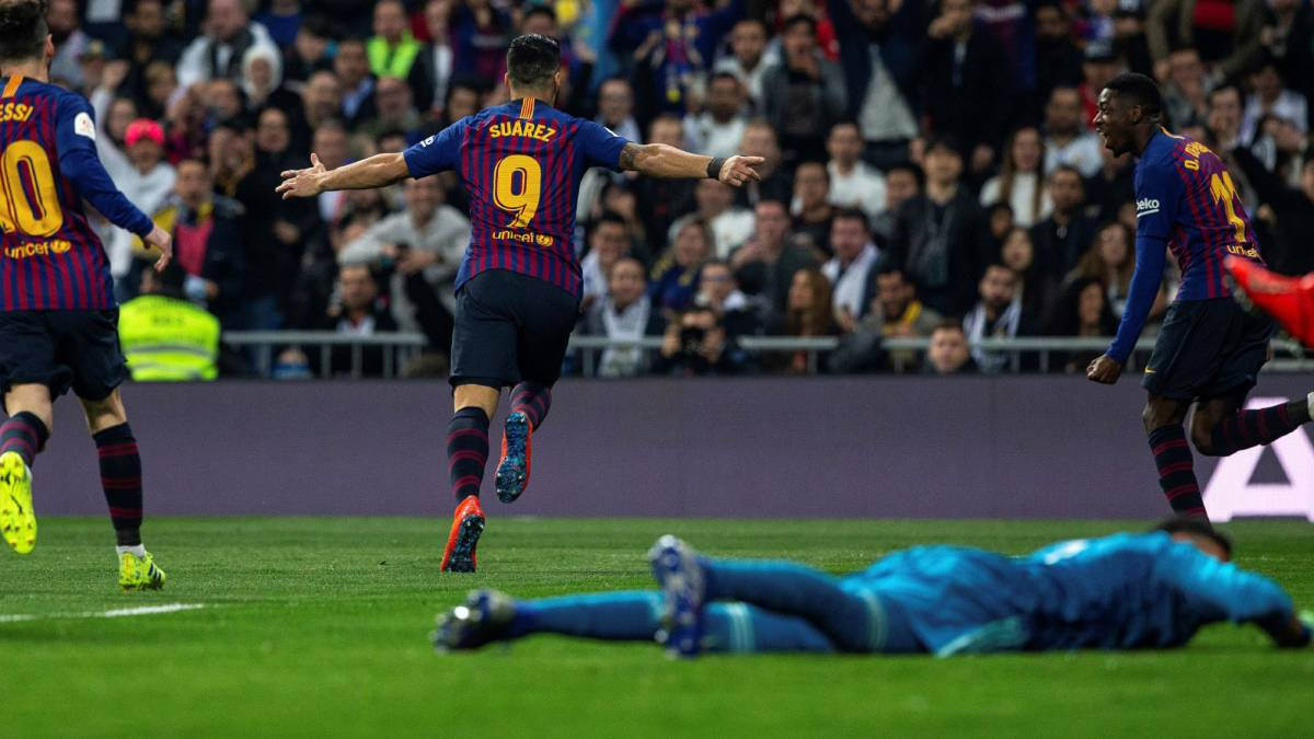 291563b26d3 Real Madrid 0-3 Barcelona: Copa del Rey Clásico 2018/19 - AS.com