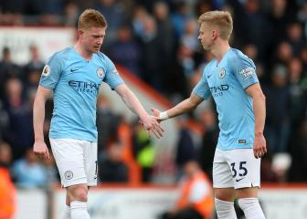 Man City's setback as De Bruyne suffers hamstring injury