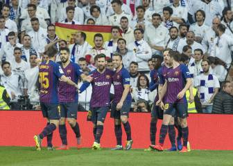 Barcelona boss the Bernabéu again