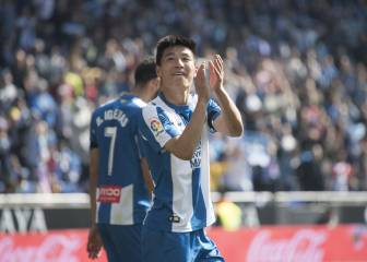 Wu Lei - the first Chinese player to score in LaLiga