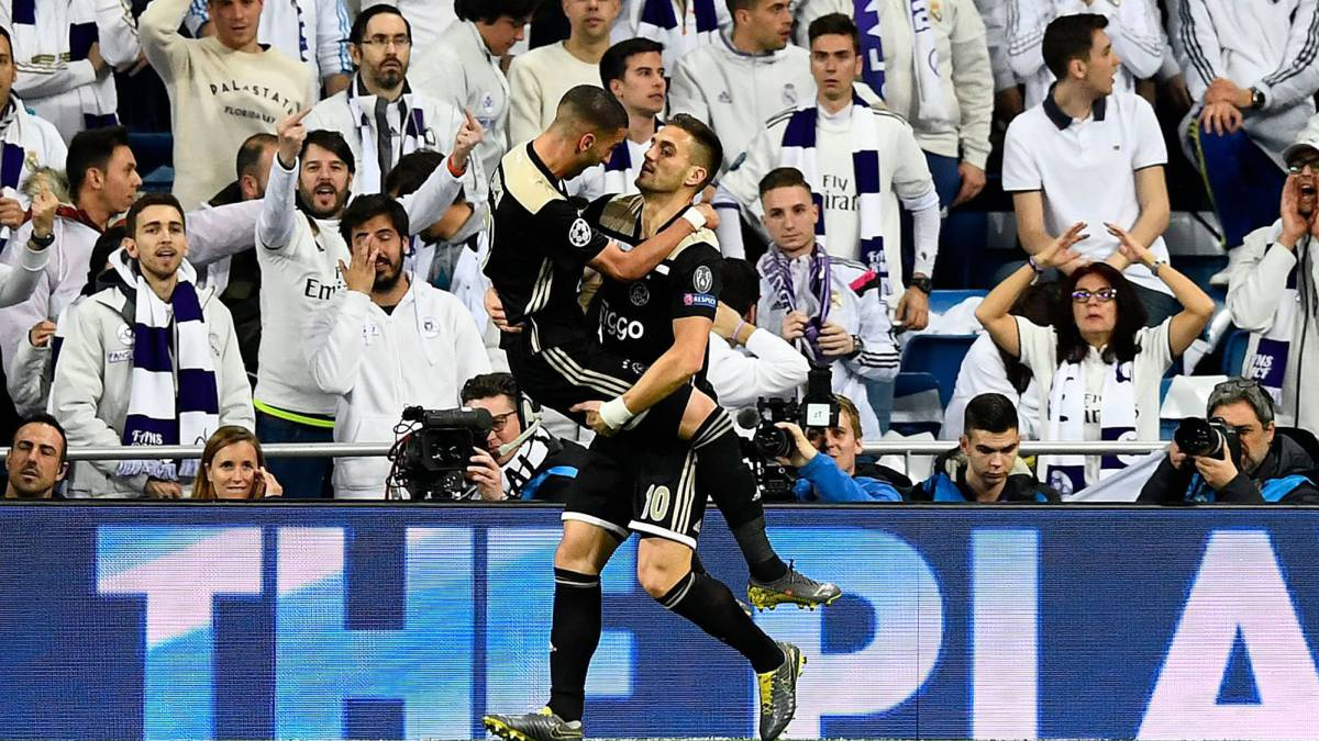 b8b0ee328ea Real Madrid reign brought to shock end as Ajax thump holders - AS.com