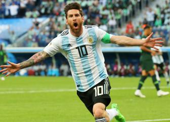Messi returns to Argentina squad as Agüero misses out