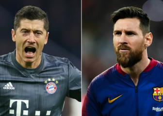 Lewandowski and Messi the prolific forwards to fear