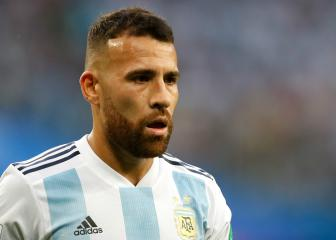 Otamendi out of Argentina squad with ankle injury