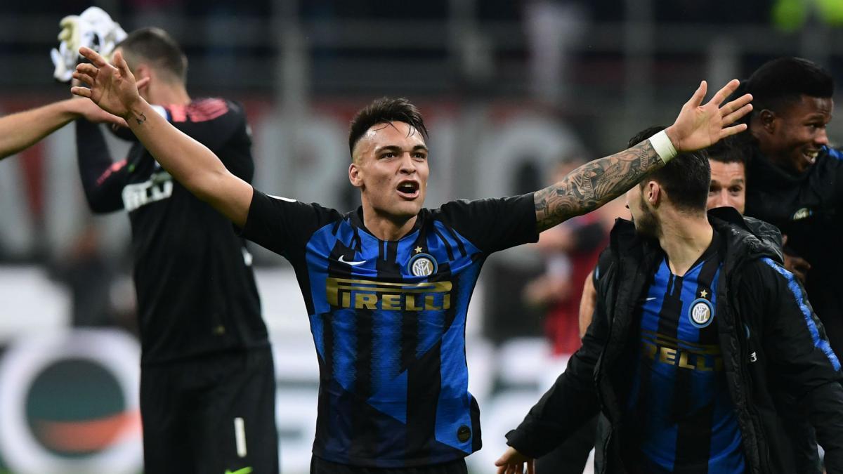 Serie A: Nicolo Barella winner sends Inter Milan to top ...  |Inter Milan