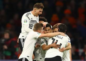 Germany stun the Netherlands at the death