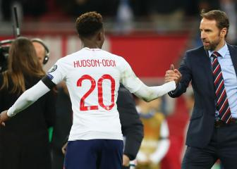 First England starts for Rice and Hudson-Odoi in Montenegro