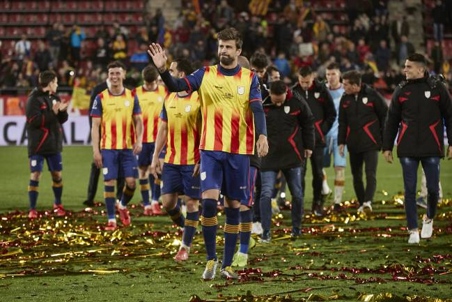 Piqué's nod in favour of respect