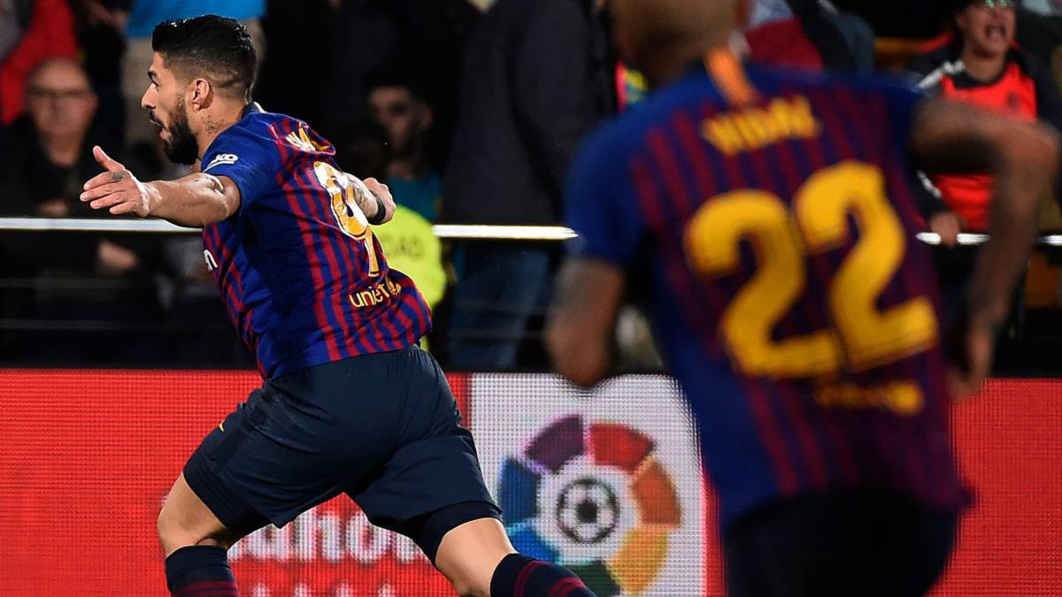 5cd9a7396 Last-gasp Barcelona rescue dramatic point at Villarreal - AS.com