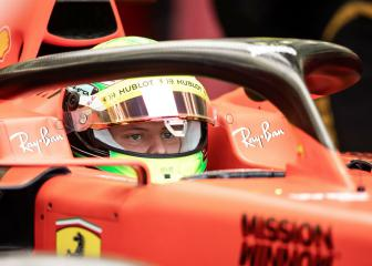 Mick Schumacher makes F1 debut with Ferrari