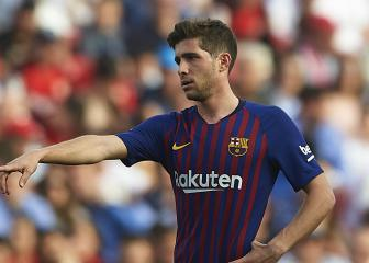 All to play for in Barcelona vs Atlético, says Sergi Roberto
