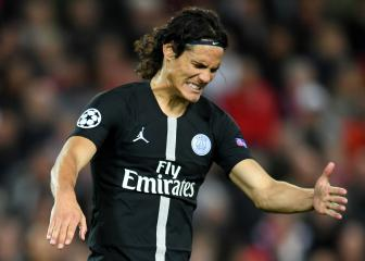 PSG's Cavani back in training