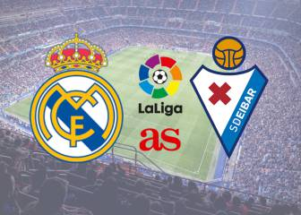Real Madrid - Eibar: How and where to watch - times, TV, online