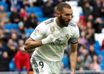 Benzema brace spares Madrid's blushes