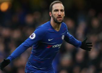 Higuaín wants to stay at Chelsea beyond this season