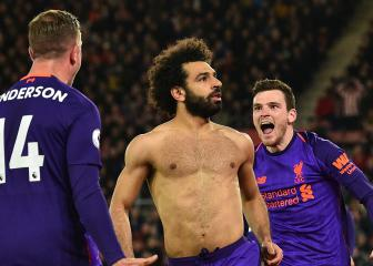 Salah played his best football during goal drought - Henderson