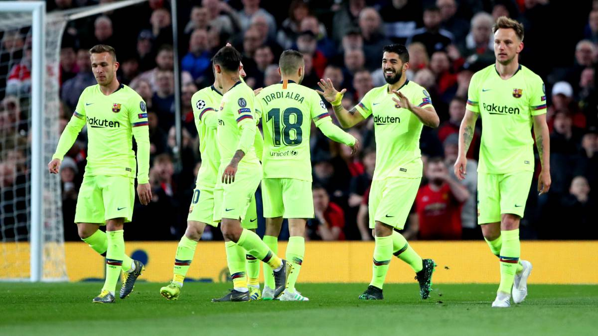 db4386fe850 Barcelona in pole position as Man Utd fail to shine at home - AS.com