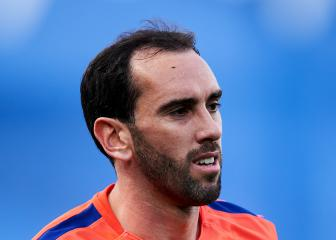 Godín misses Atlético Madrid training with thigh injury