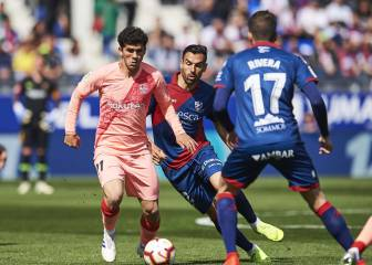 Huesca and Barça play out low-key draw at El Alcoraz
