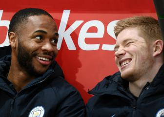 De Bruyne: I thought Sterling would be a dickhead!