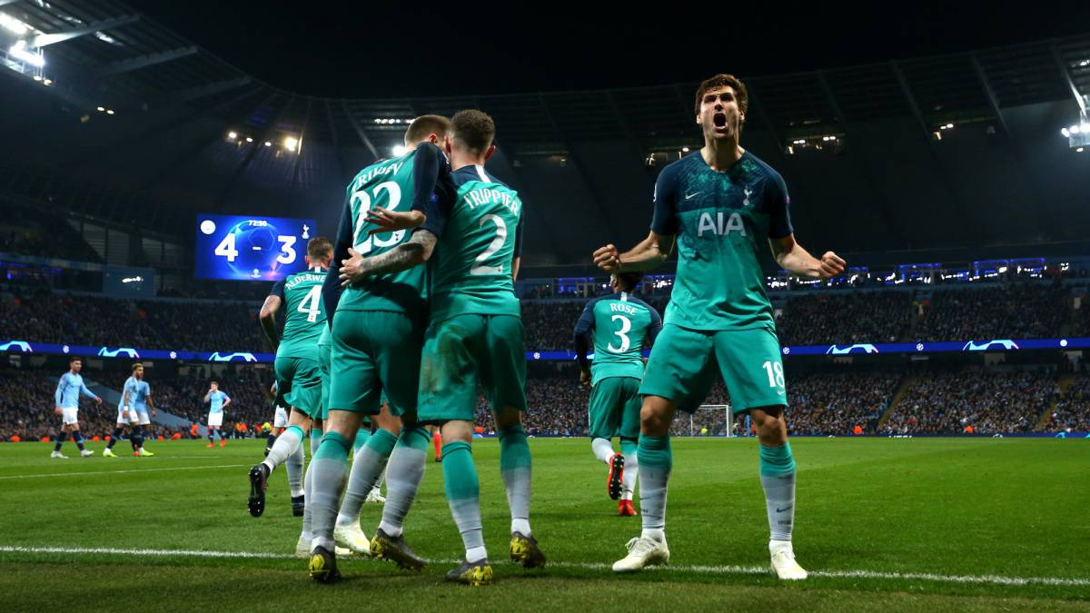 8f6a8b3aeb1 Spurs squeeze past City into semi after epic battle at Etihad - AS.com