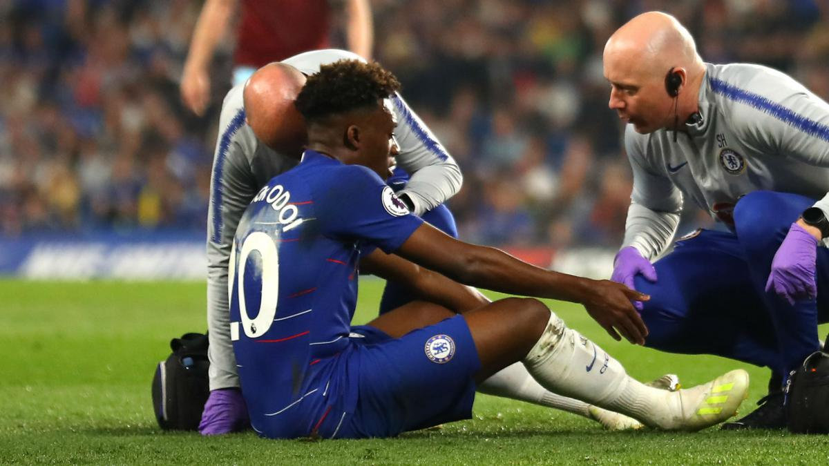 Hudson-Odoi says his season is over with ruptured Achilles tendon - AS.com