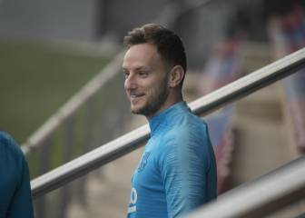 Rakitic rested with Liverpool semi-final in mind