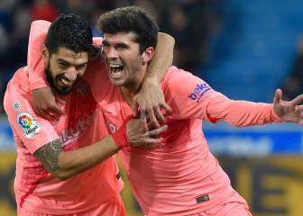 Suárez and Aleña edge Barça closer to another title