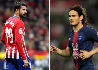 PSG looking at Cavani-Costa swap with Atlético Madrid