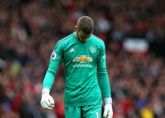 De Gea's dire form continues with Old Trafford howler
