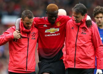 Man United's Bailly ruled out of Africa Cup of Nations