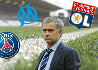 Three Ligue 1 clubs with their eye on Jose Mourinho