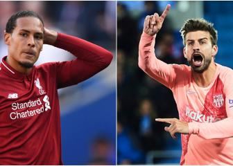 Barça vs Liverpool: Van Dijk and Piqué compared