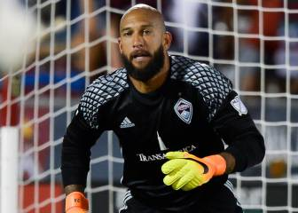 Tim Howard really doesn't want Liverpool to win
