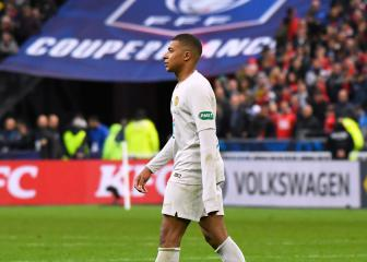 Mbappé gets three-match ban for Coupe de France final red