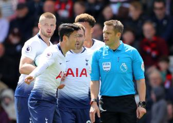 Pochettino has no complaints over Tottenham's two red cards